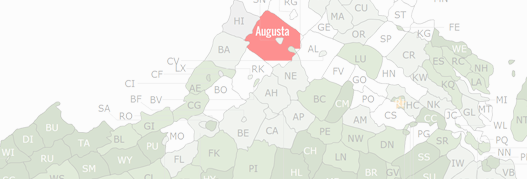 Augusta County Map