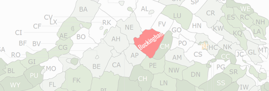 Buckingham County Map